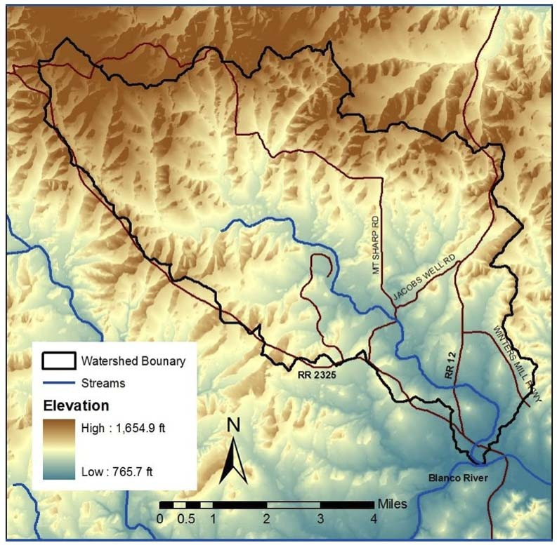 Watershed Topography