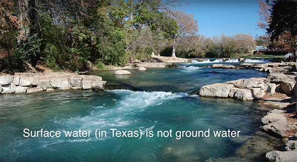 This is the second talk in a series on water hosted by the Wimberley Lions. Dianne Wassenich, Program Director, San Marcos River Foundation talks about surface water and water quality.