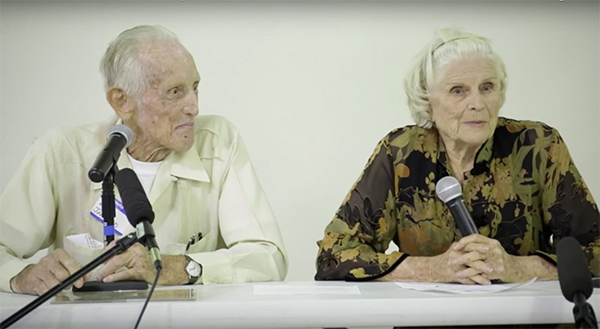 Bill and M.F. Johnson know Wimberley's past. After all, they've lived seven decades of their lives in this quaint Hill Country town. On October 6 they shared their memories of Wimberley past with the local Lions club.