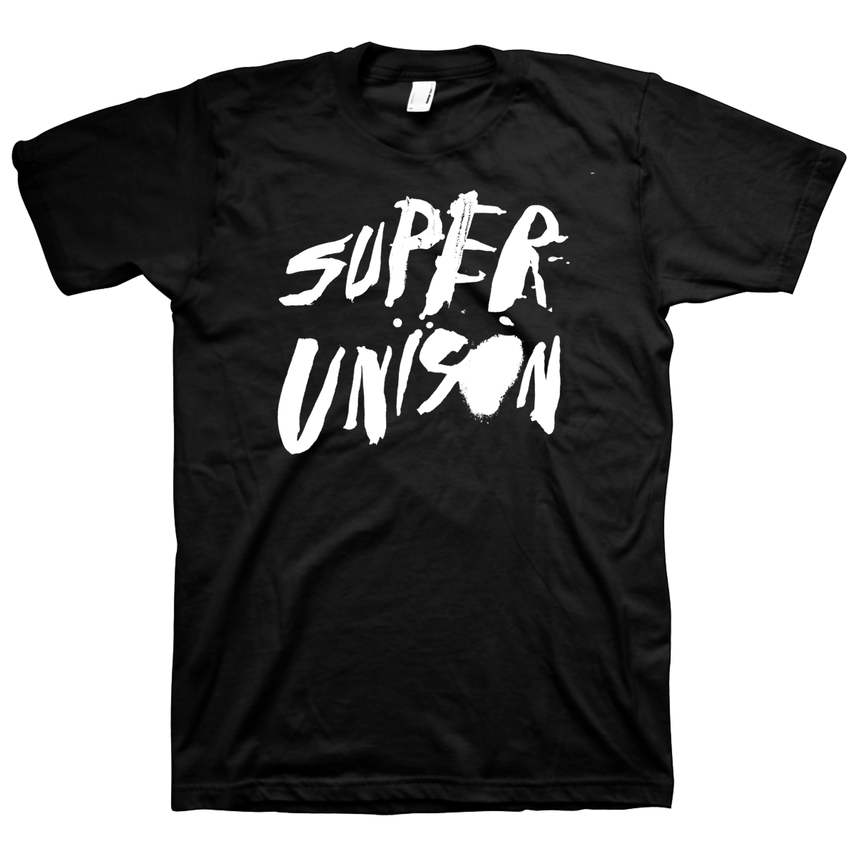 superunison.splatterlogo.blackshirt.png