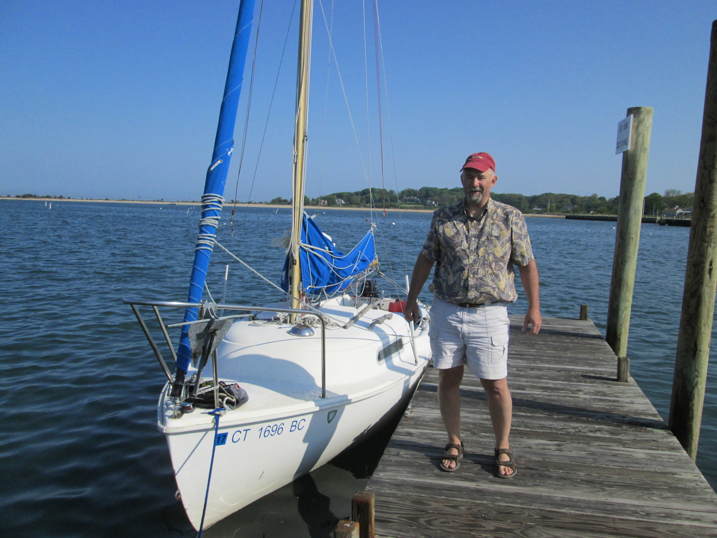 Chris Albert #2714 FLOTSAM Niantic River