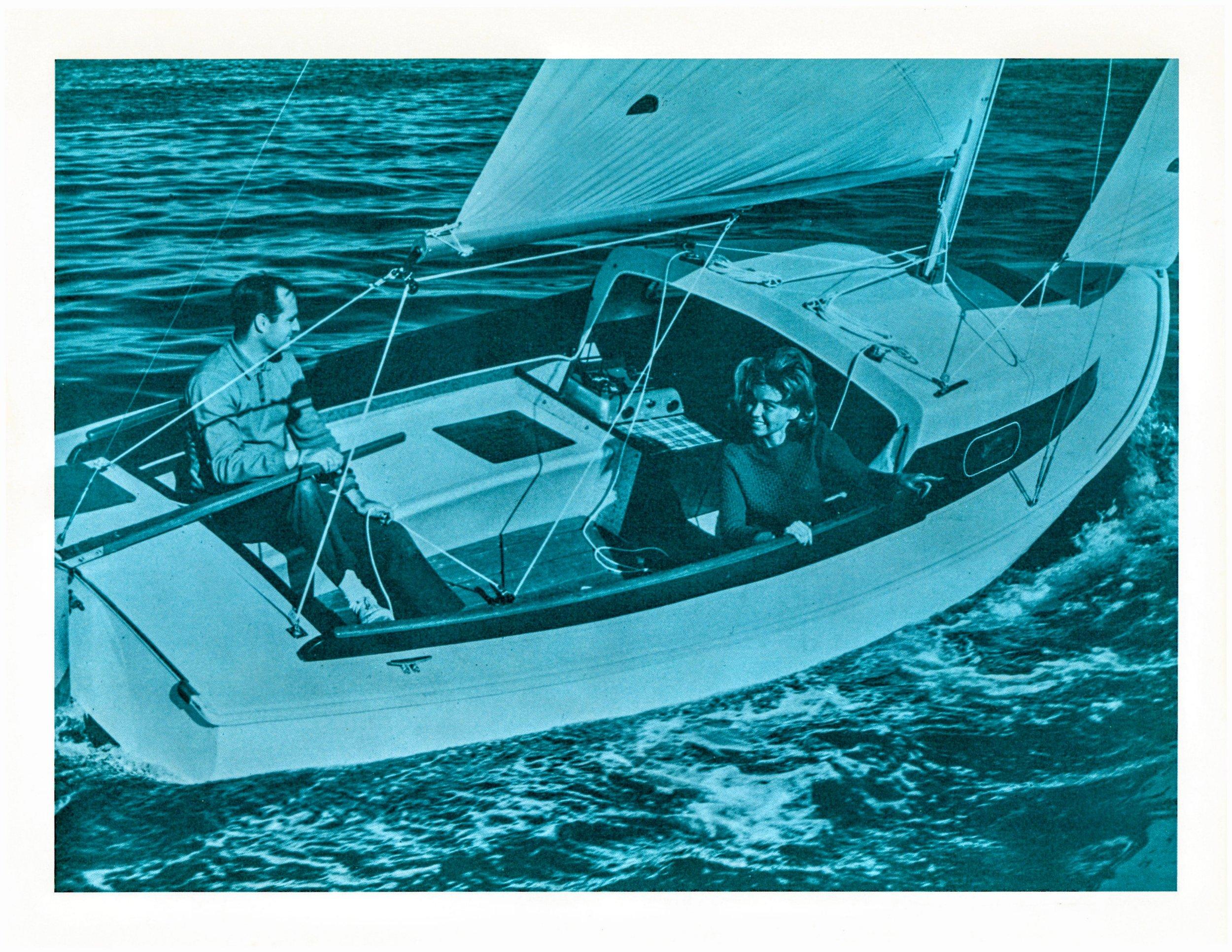 1966 O'Day Sailboats Brochure — O'Day Mariner #1922
