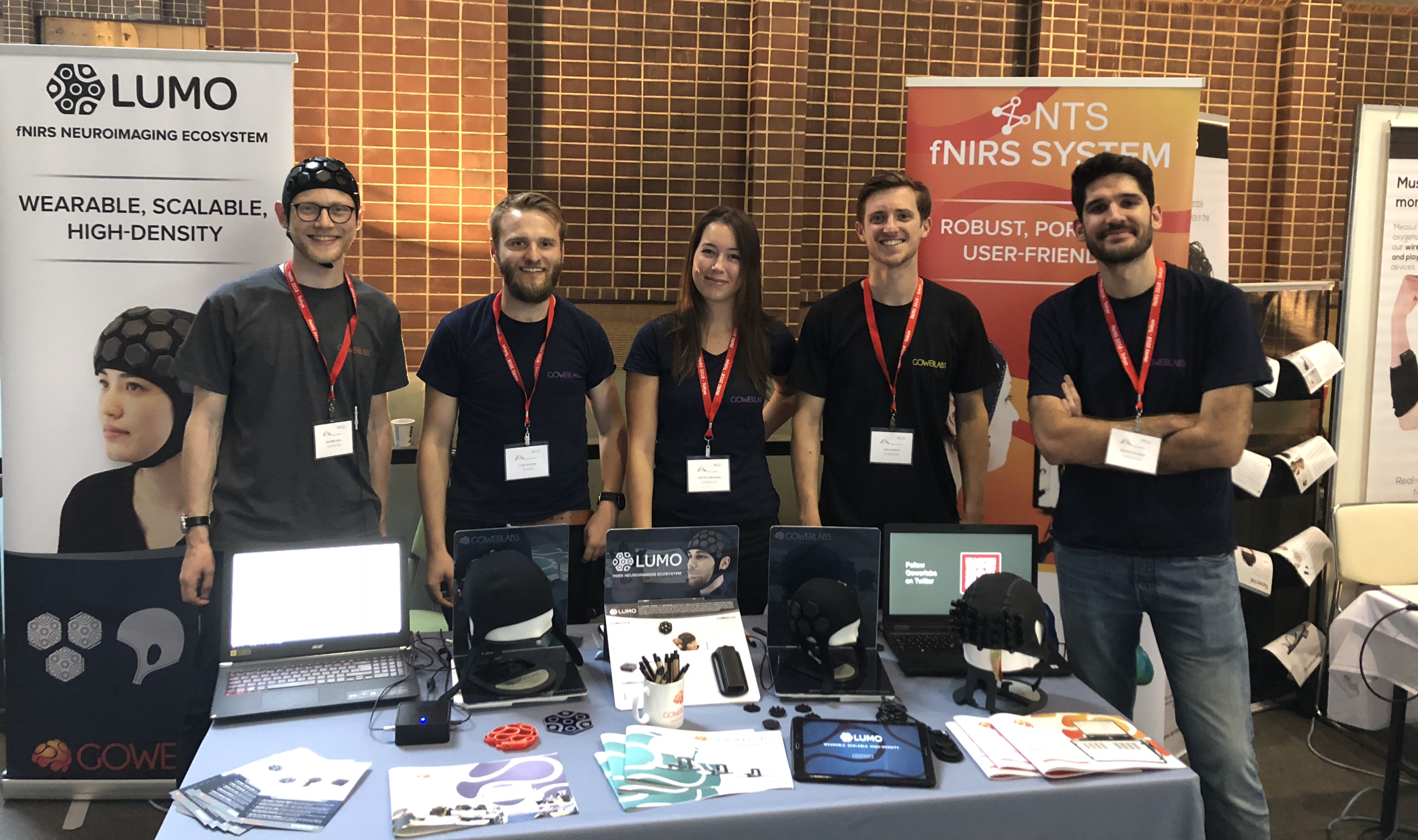 Gowerlabs were platinum sponsors of the 2018 fNIRS conference in Tokyo, Japan