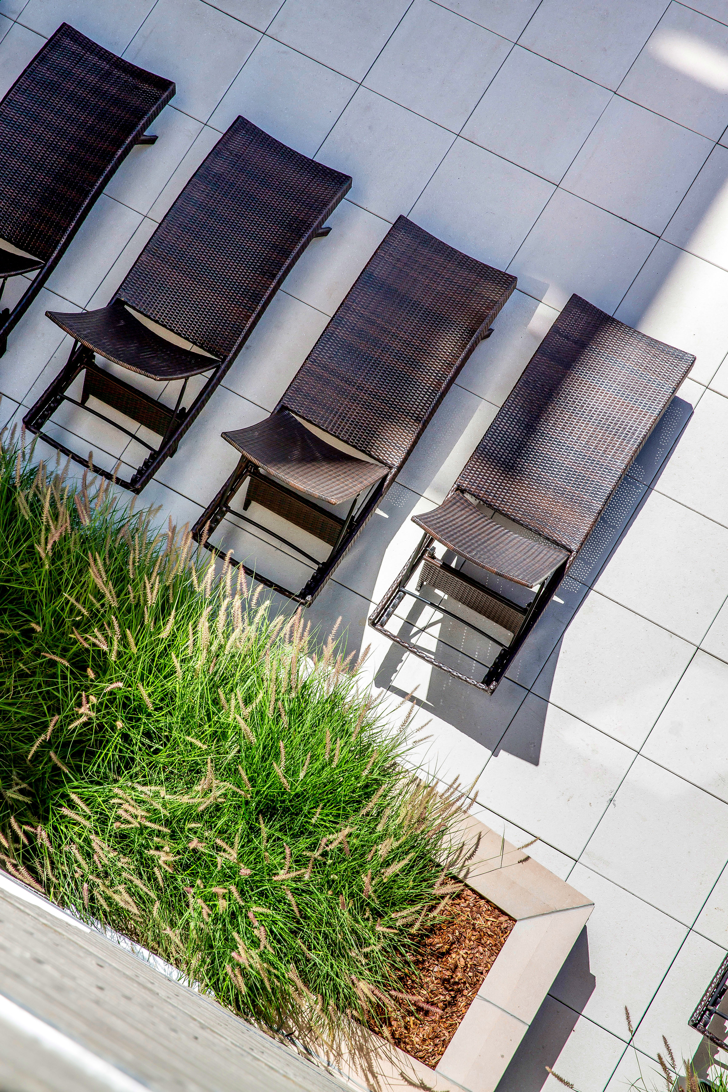 """<img src="""" studioINSITE_The_Verve_Courtyard """"alt=""""Urban Living, Multifamily Courtyard, Amenity Deck, Fire Pit, Grill Area, Shade Structure, Outdoor Garden,  Landscape Architecture, Luxury Living, the Douglas, Denver, CO, Colorado Courtyards, Amenity Spaces, Great Courtyard Designs"""" title=""""The Verve""""/>"""
