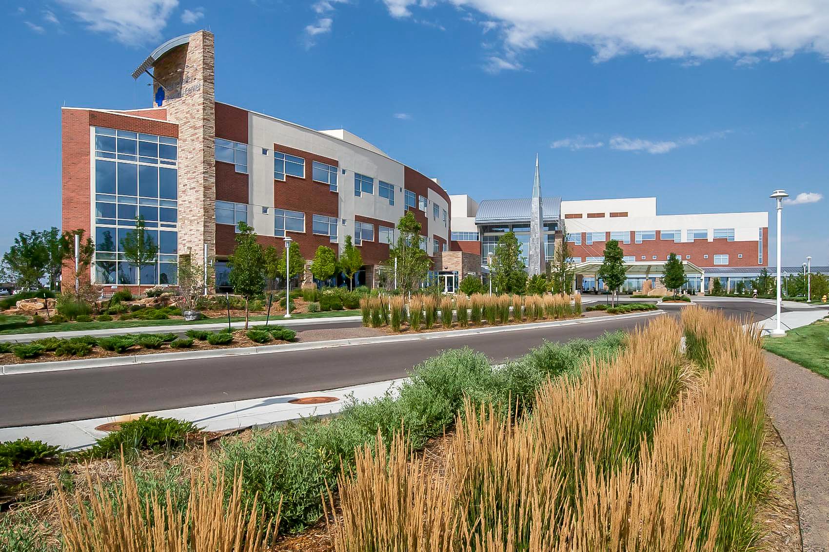 "<img src=""studioINSITE_Platte_Valley_Medical_Center_Entry_Drive""alt=""Healing Garden, Medical Campus, Master Plan, Landscape Architecture, Brighton Colorado, Therapeutic Gardens"" title=""Platte Valley Medical Center""/>"