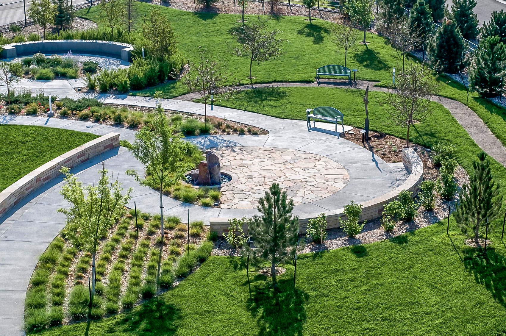 "<img src="" studioINSITE_Platte_Valley_Medical_Center_healing_garden ""alt=""Healing Garden, Medical Campus, Master Plan, Landscape Architecture, Brighton Colorado, Therapeutic Gardens  "" title=""Platte Valley Medical Center""/>"