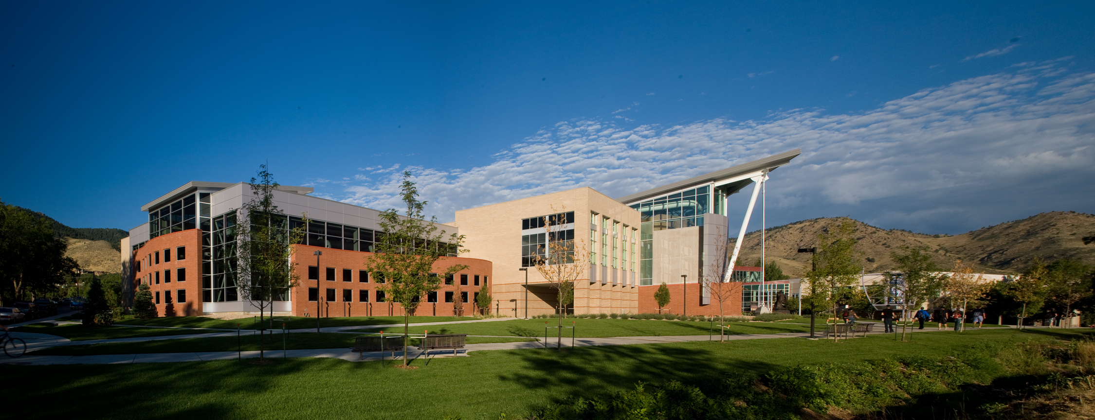 "<img src="" studioINSITE_School_of_Mines_Campus_Recreation_Ctr.jpg ""alt=""Science Building, College Stadium, Pedestrian Mall, Sculpture Garden, Sustainable Campus, Bioswale, Landscape Architecture, Colorado School of Mines, Recreation Center  "" title=""Colorado School of Mines""/>"