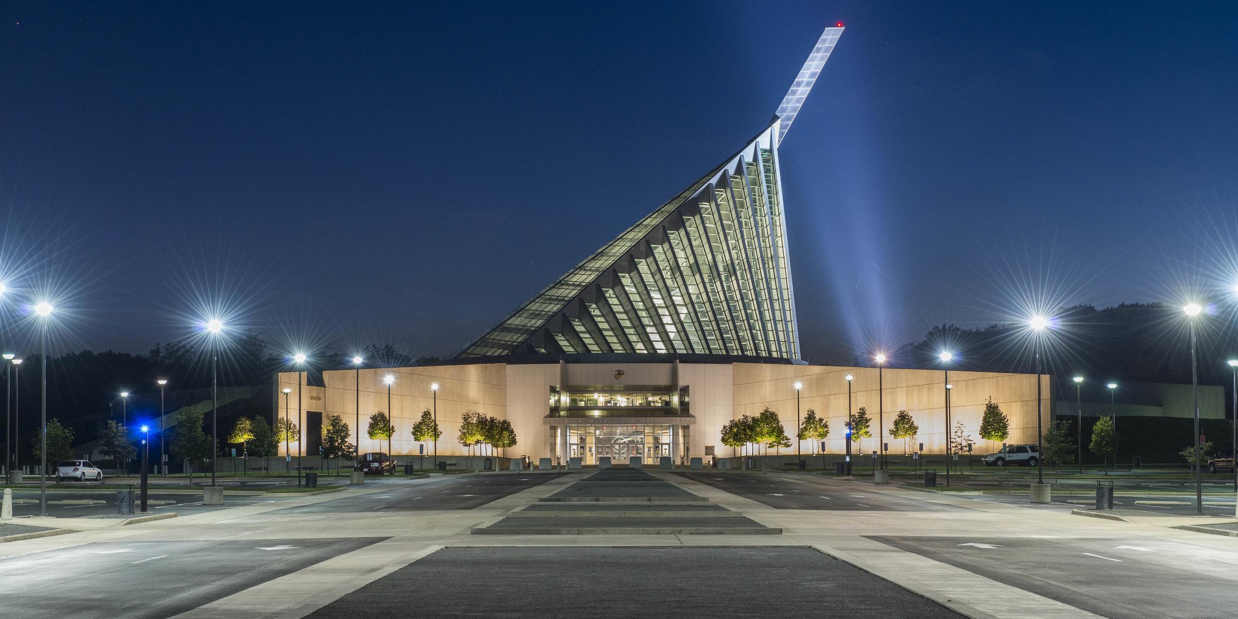 <f>Markets</f><f>Civic+Cultural</f><f>Services</f><f>Planning</f><f>Services</f><f>LandscapeArchitecture</f><t>National Museum of the Marine Corps</t><m>Quantico, VA</m>