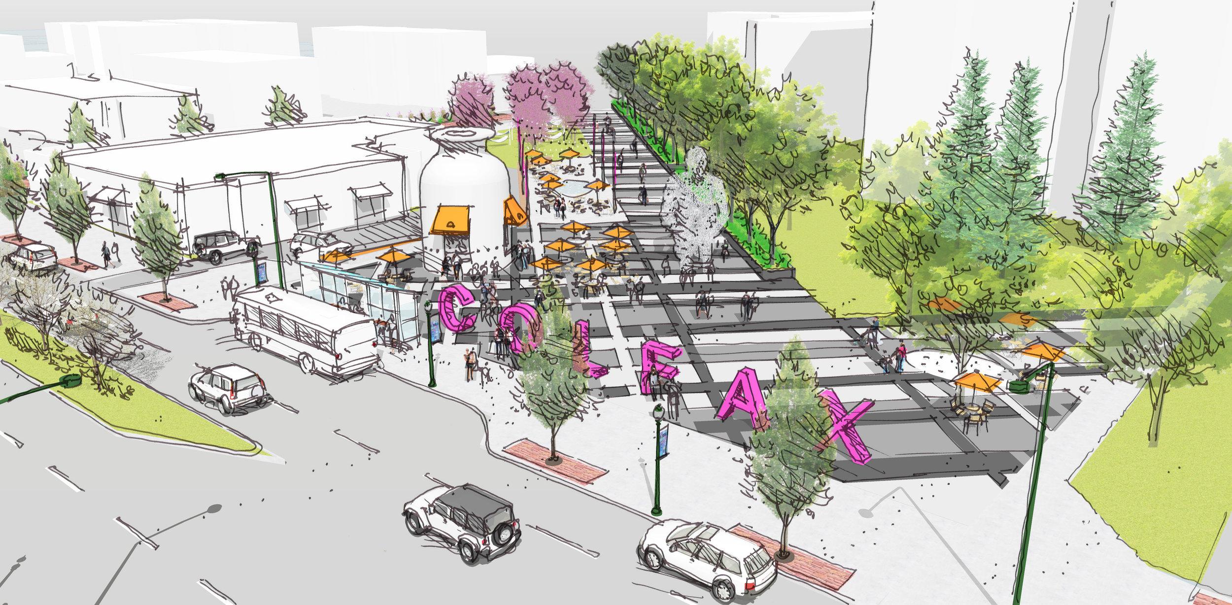 <f>Services</f><f>Planning</f><f>Services</f><f>UrbanDesign</f><f>Markets</f><f>UrbanDesign+Planning</f><t>Colfax Avenue Master Plan</t><m>Denver, CO</m>
