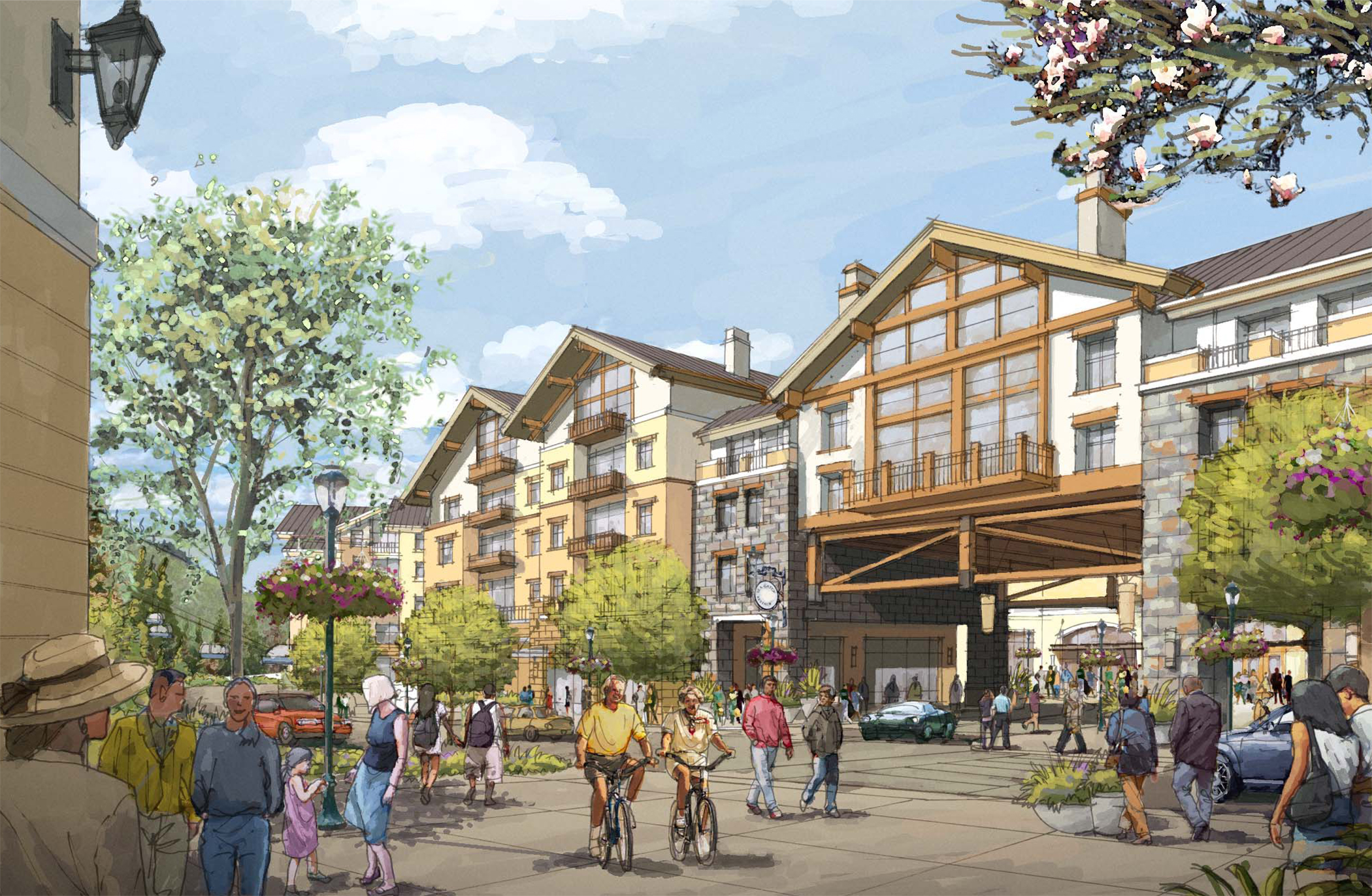 """<img src="""" studioINSITE_Ever_Vail_Pedestrian_Bridge """"alt=""""Vail, Mountain Commnity, Ever Vail, Sking, Snowboarding, Mountain Living, Planning, Landscape Architecture, Mountain Resort, Rocky Mountains, Winter,  """" title=""""Ever Vail""""/>"""