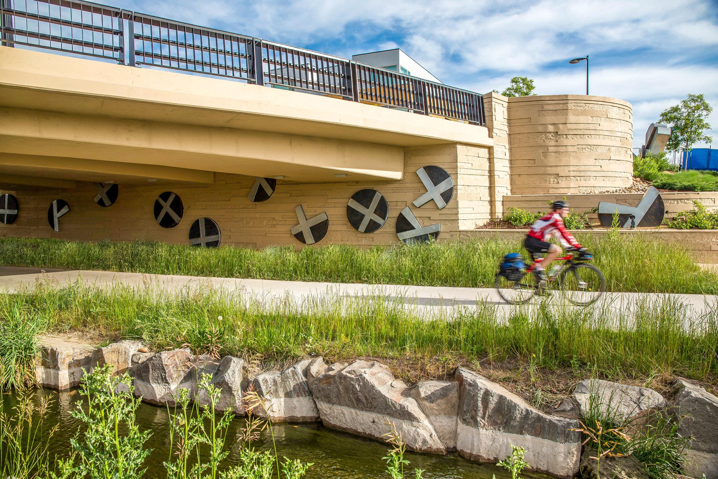 """<img src="""" studioINSITE_Boulder_Junction_Place_Greenway """"alt=""""Boulder, Junction Place, Bike Trails, Transite Depot, Bridge, Streetscape, Greenway, Landscape Art, Art, Public Outreach, Landscape Architecture, Urban Design  title=""""Boulder Junction Place  """"/>"""