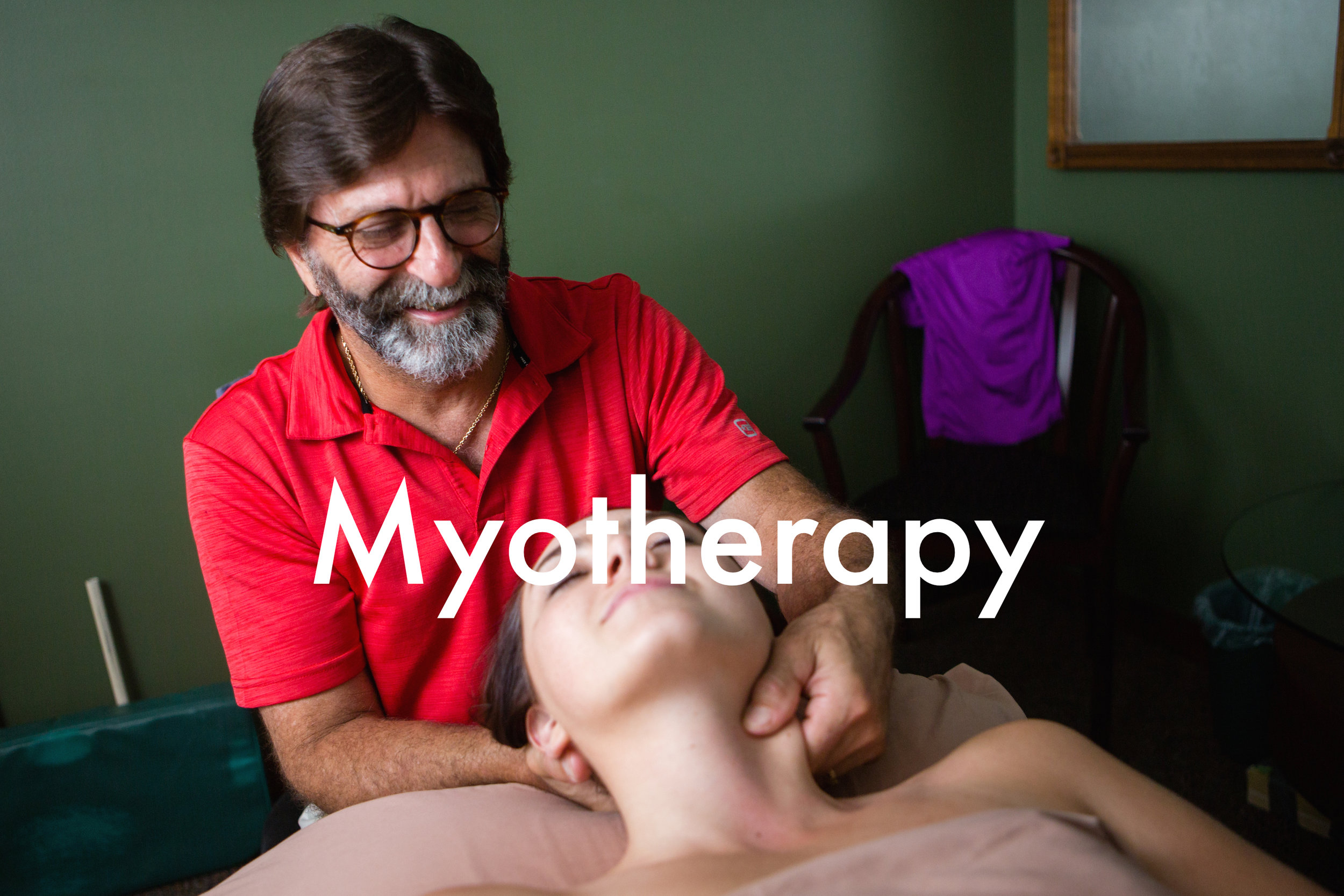 Myotherapy and myofascial release