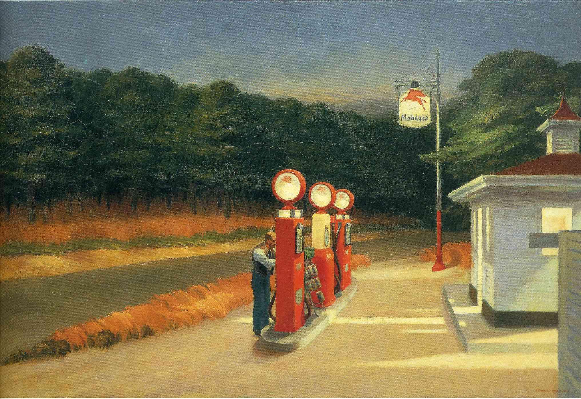 Edward Hopper, Gas, 1940 -