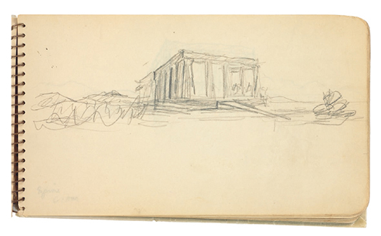 Aphaia templeCARNET B5 - Le Corbusier
