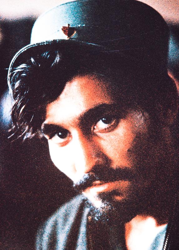 A Castro rebel with beard and hat, Matanzas, Cuba, 1959