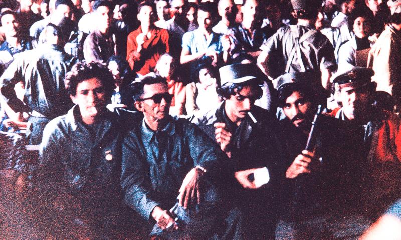 Trial spectators, Matanzas, Cuba, 1959