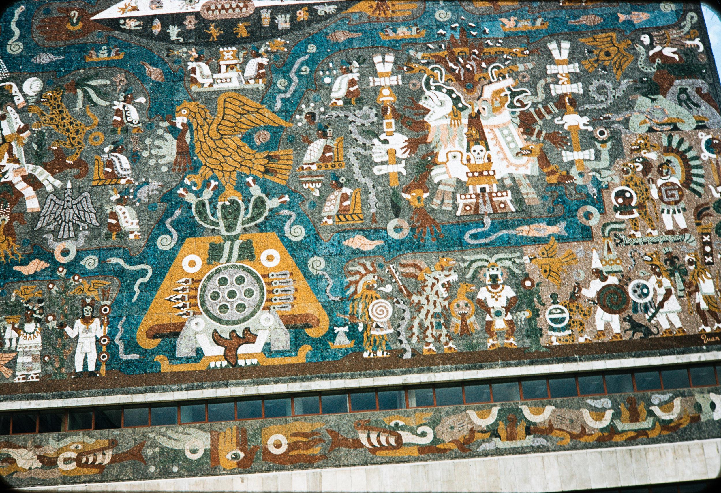Mural #2, Mexico, 1957