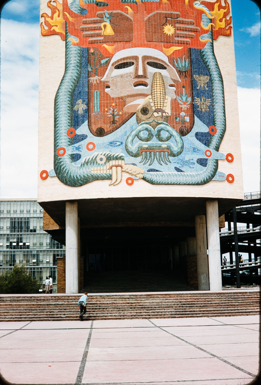 Mural #4, Mexico, 1957