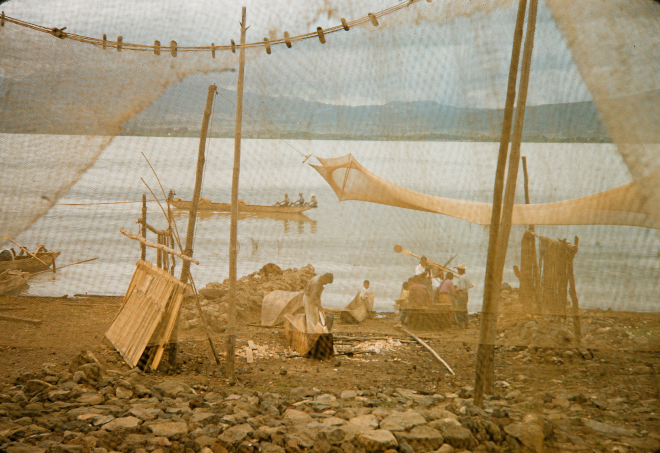 Fishing village #9, Mexico, 1957