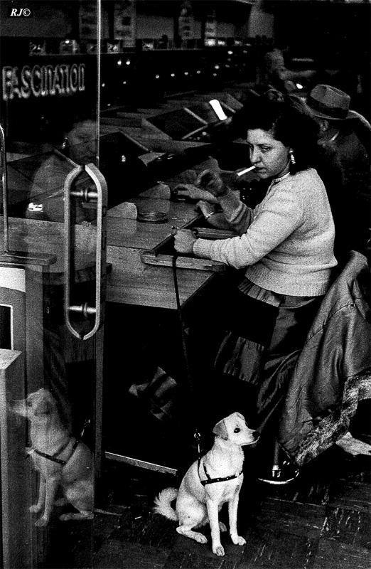Smoker , Coney Island, 1953