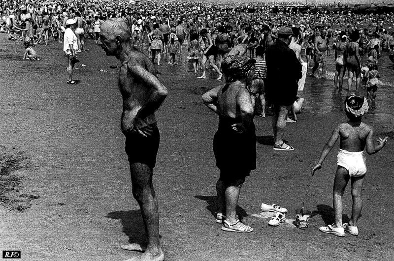Back to back, Coney Island, 1953