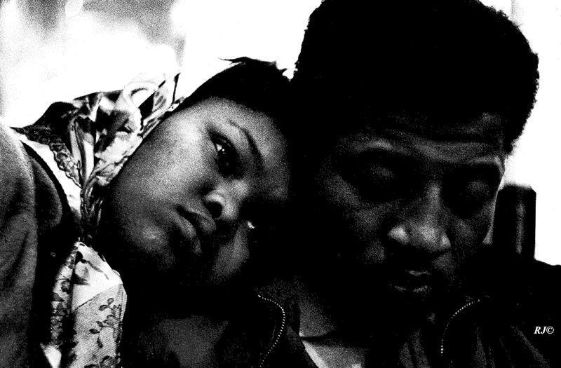 Young couple, Harlem, 1953