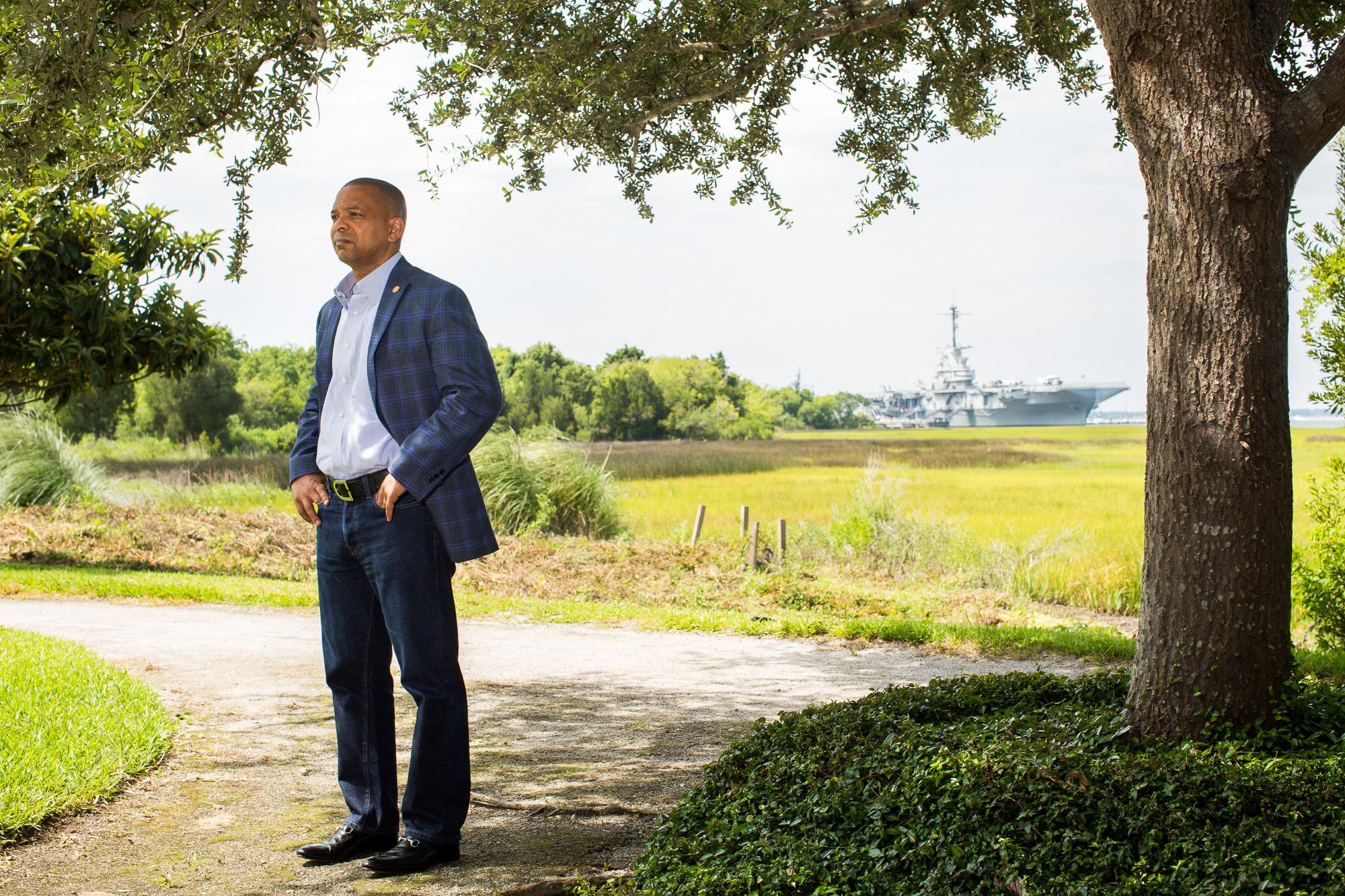 South Carolina Senator Marlon Kimpson (District 42 - Charleston and Dorchester Counties) in Charleston, SC has introduced common-sense gun-control bills in the South Carolina Legistlature.