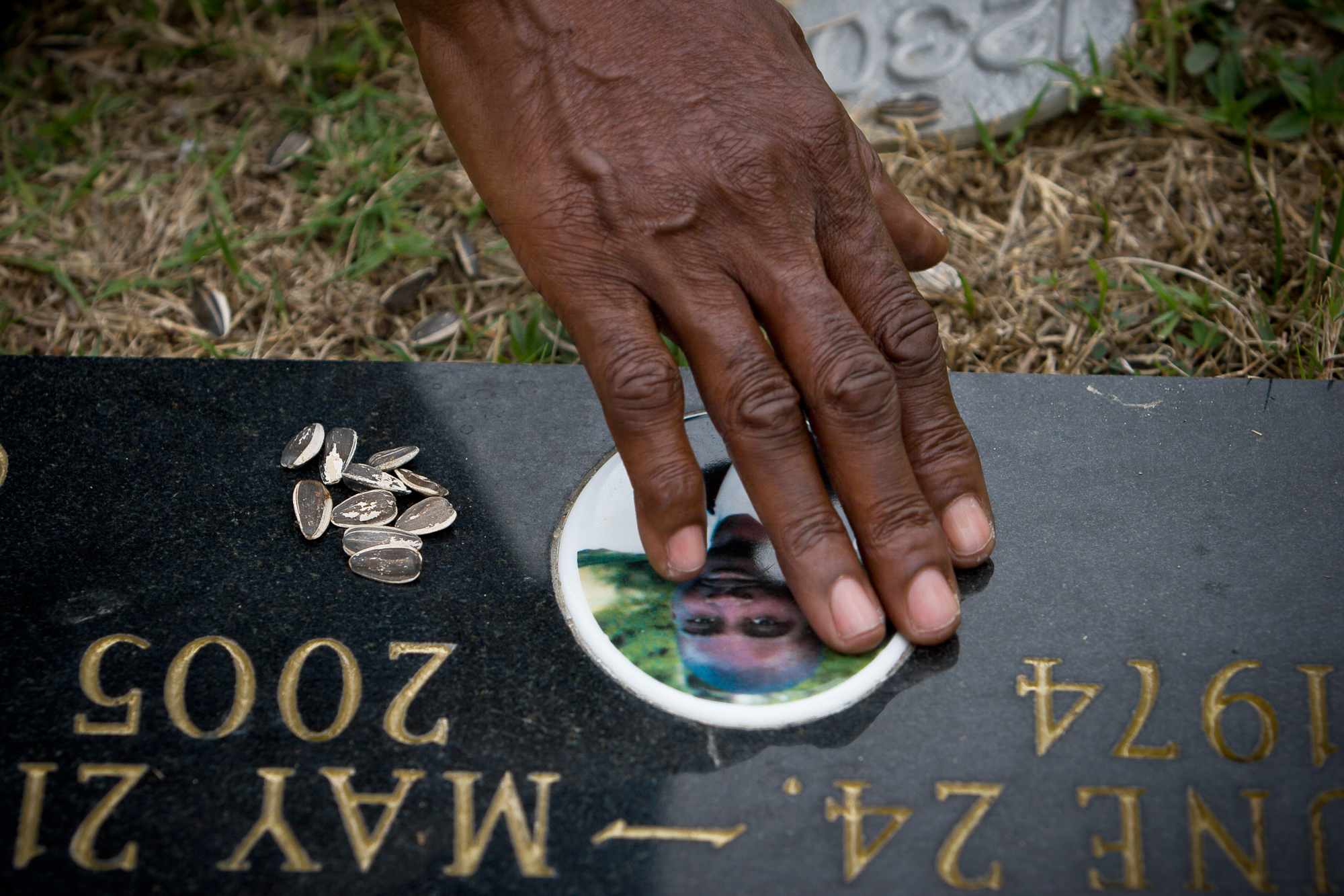 """""""I just want to go dig up his body so I can touch his face one more time,"""" says Joslin at her son's grave in Beechwood Cemetery, in 2007. Her imagination leaves her restless. She sees Ray's face on the young men walking down her street; """"Ray! Ray!"""" she calls out to them, but when she blinks, their features morph, and suddenly they aren't him."""