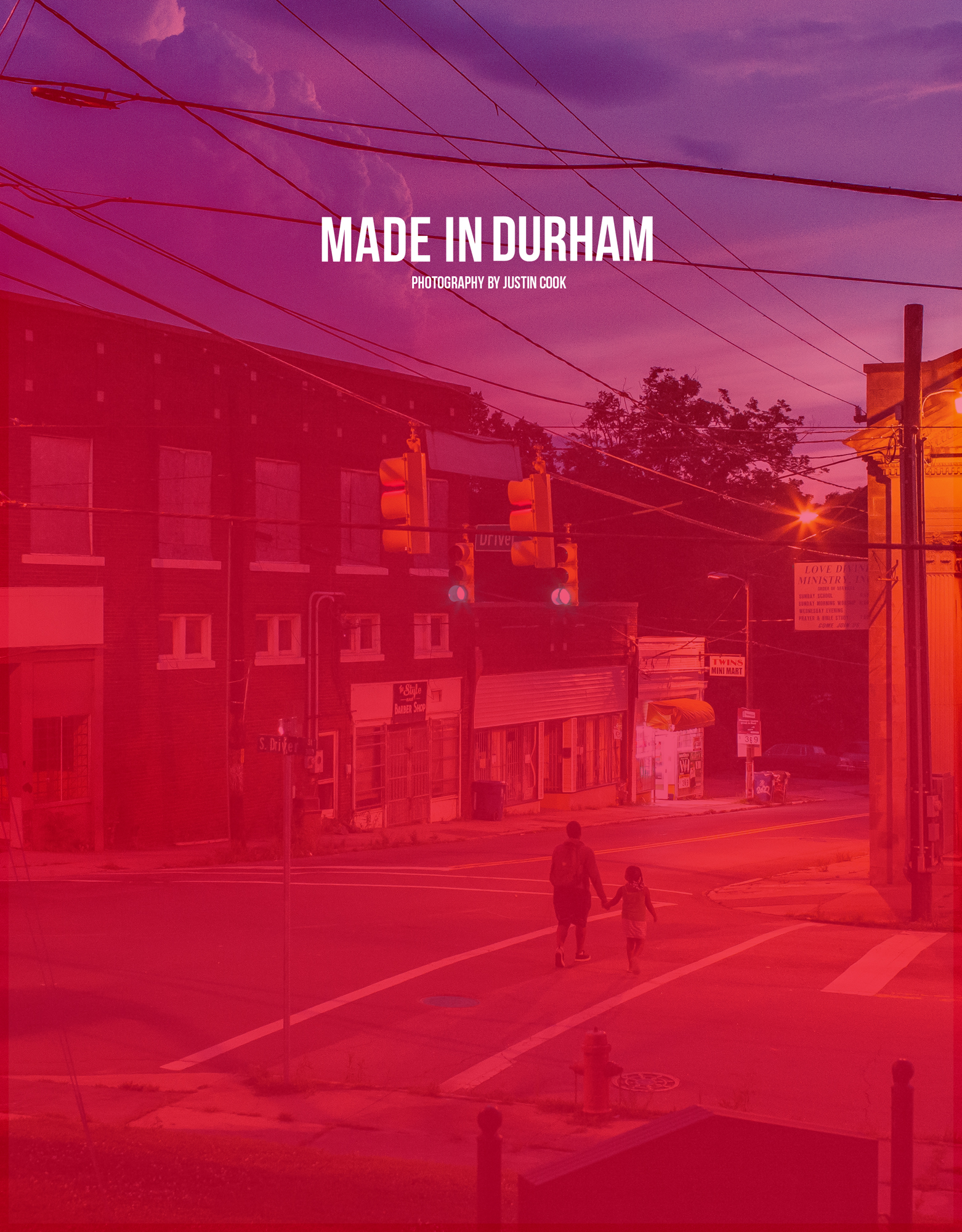 Made in Durham the zine, front cover.