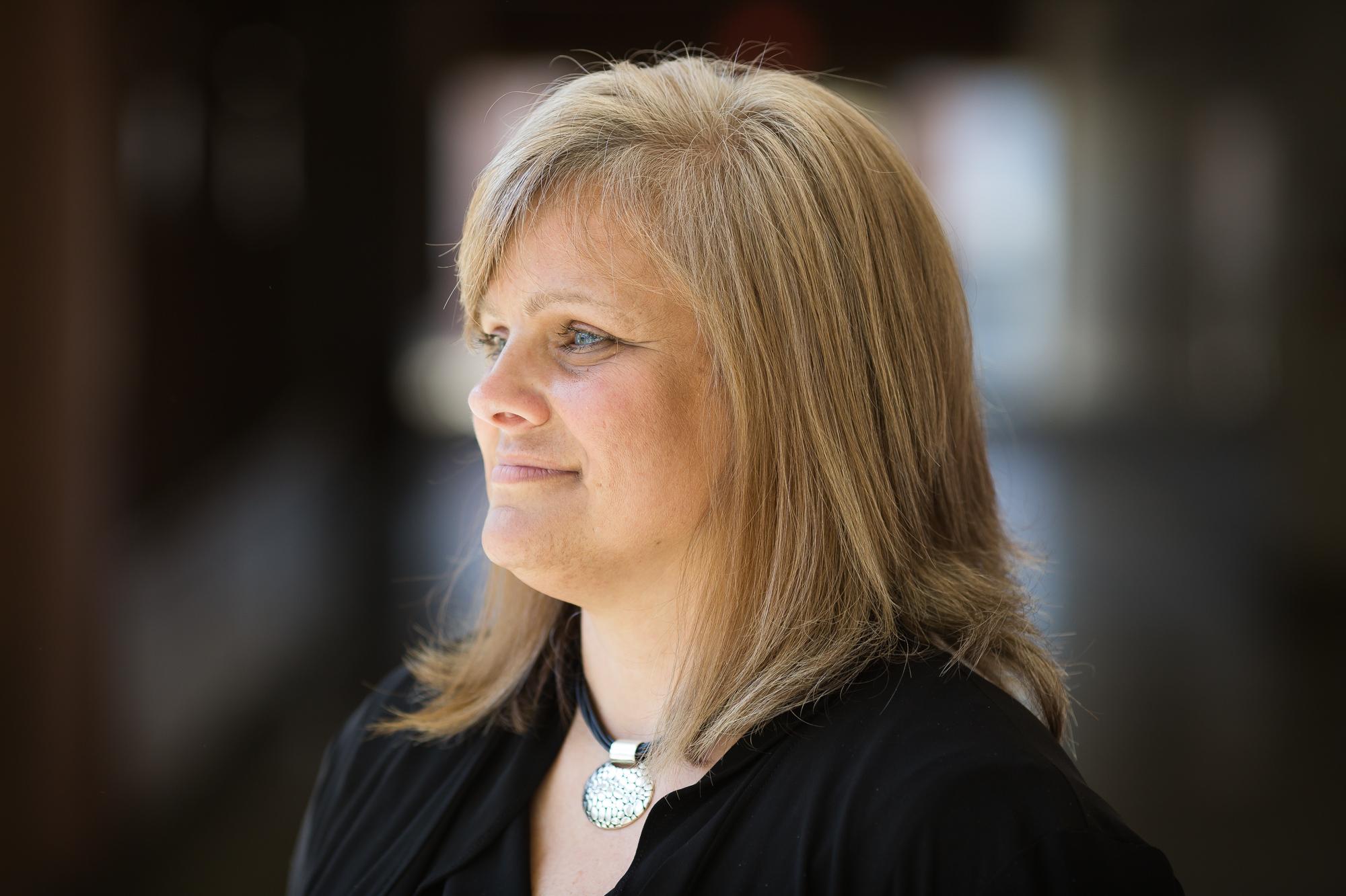 Central Surry High School Principal Celia Hodges.