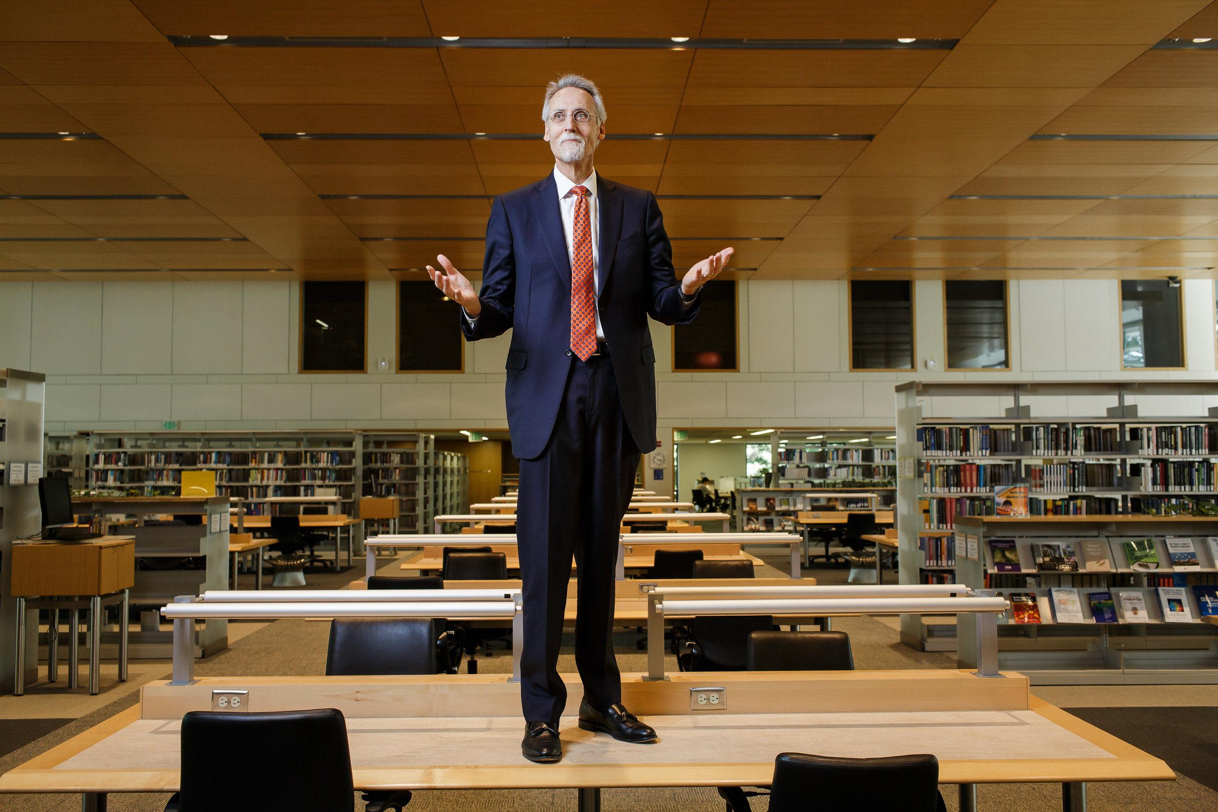 Portrait of Dr. Dean Boulding of Duke Fuqua School of Business
