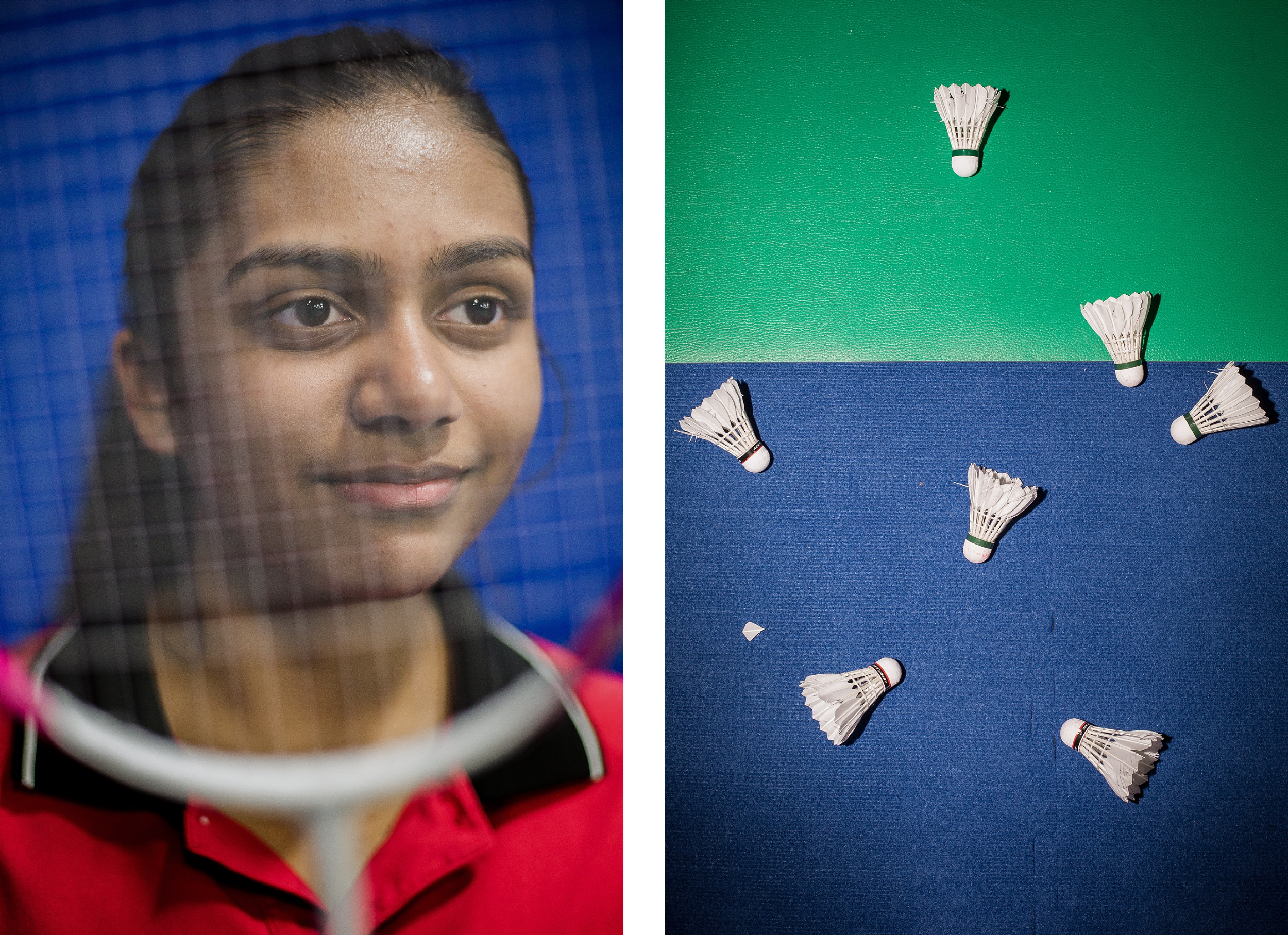 Portrait of Soumya Gade Badminton Prodigy Raleigh