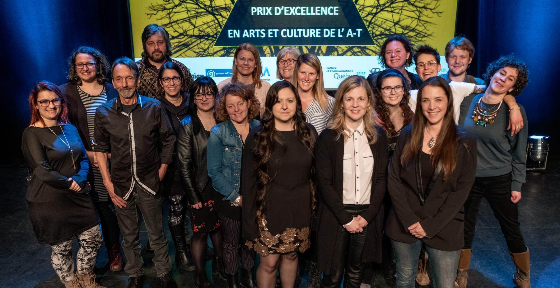Prix d'excellence en arts et en culture de l'Abitibi-Témiscamingue 2019