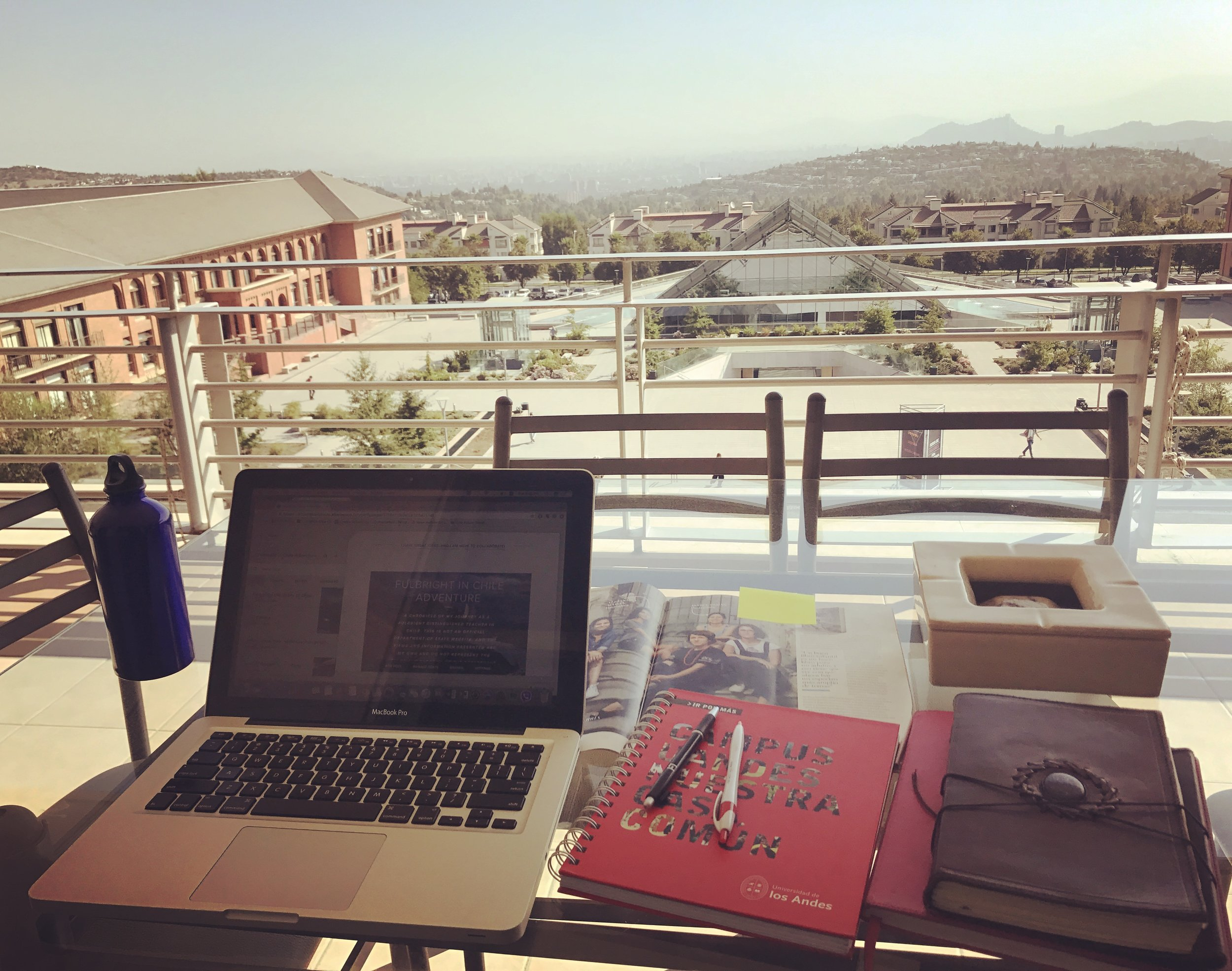 My office at the U of the Andes