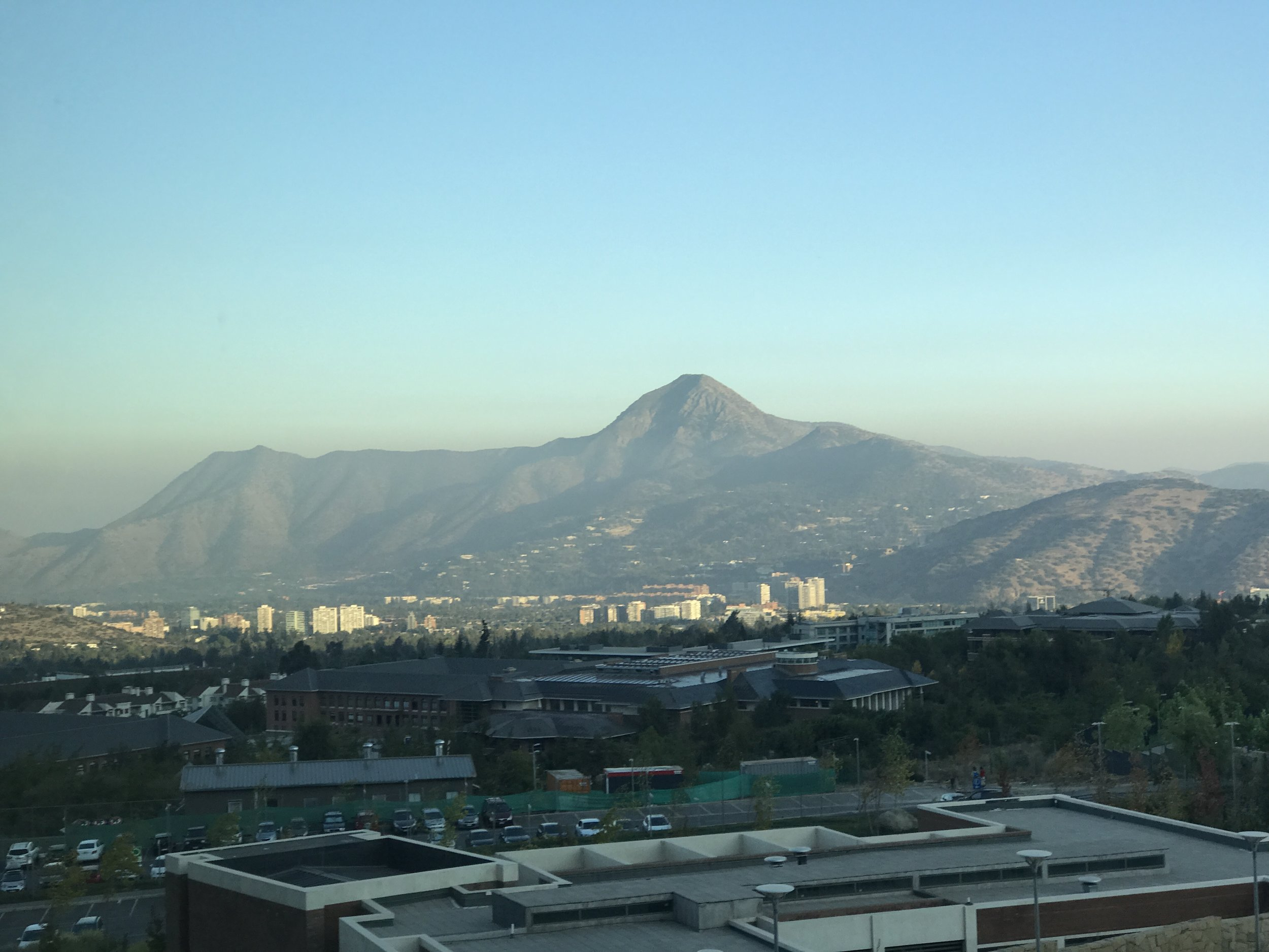 The University of the Andes at dawn