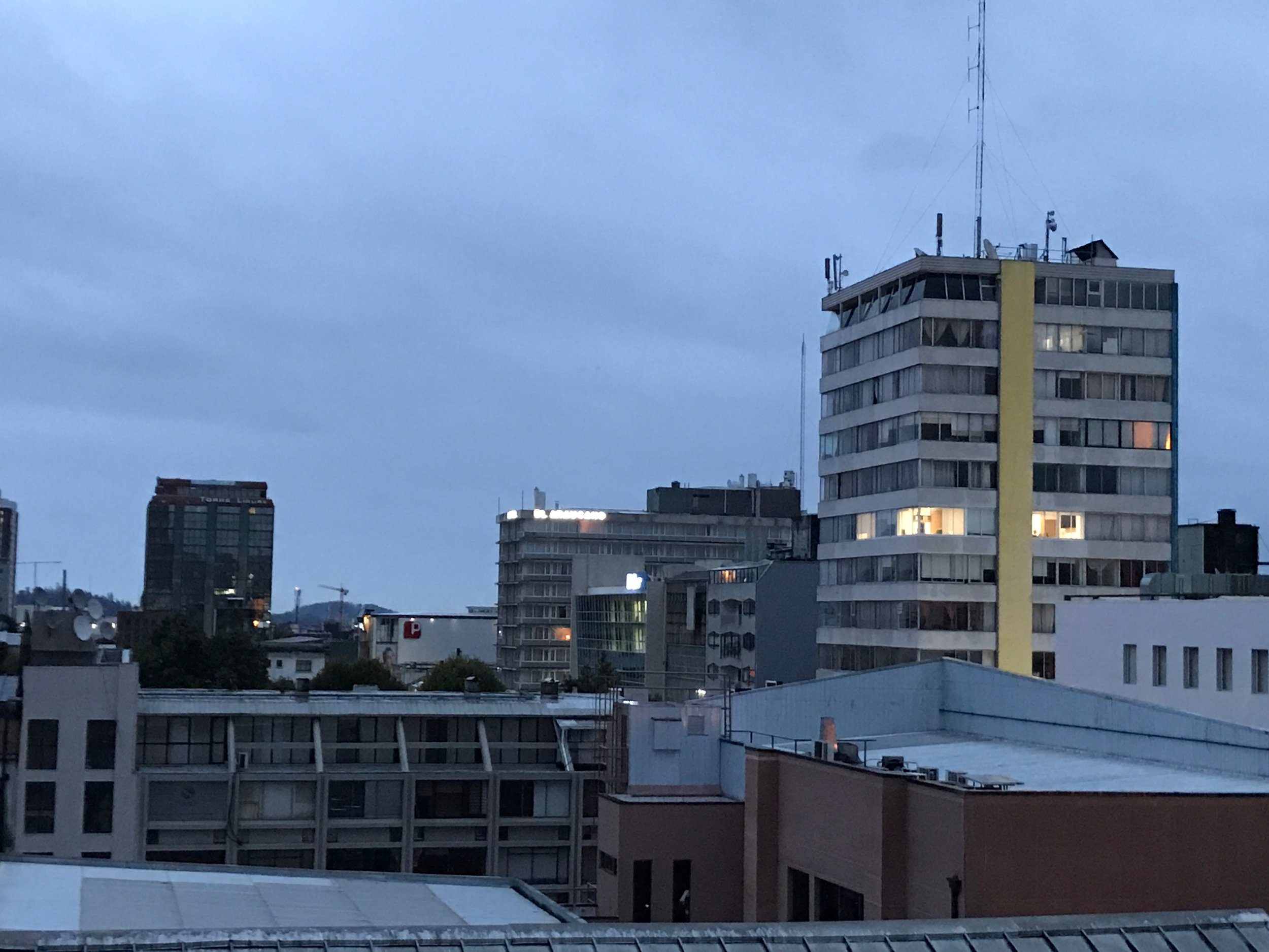 Rainy Concepción on Censo Day