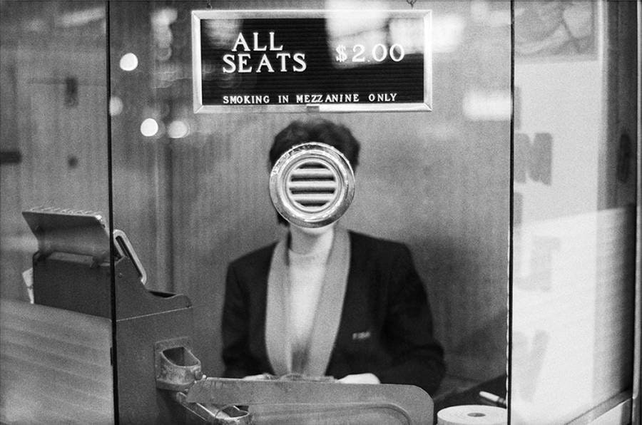 New York City (1963) © Joel Meyerowitz via  Artsy