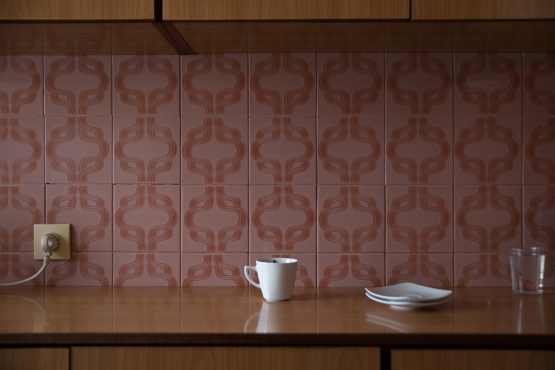 Photographic series Wall Unit by Paulina Korobkiewicz as featured in Semi Zine Magazine.