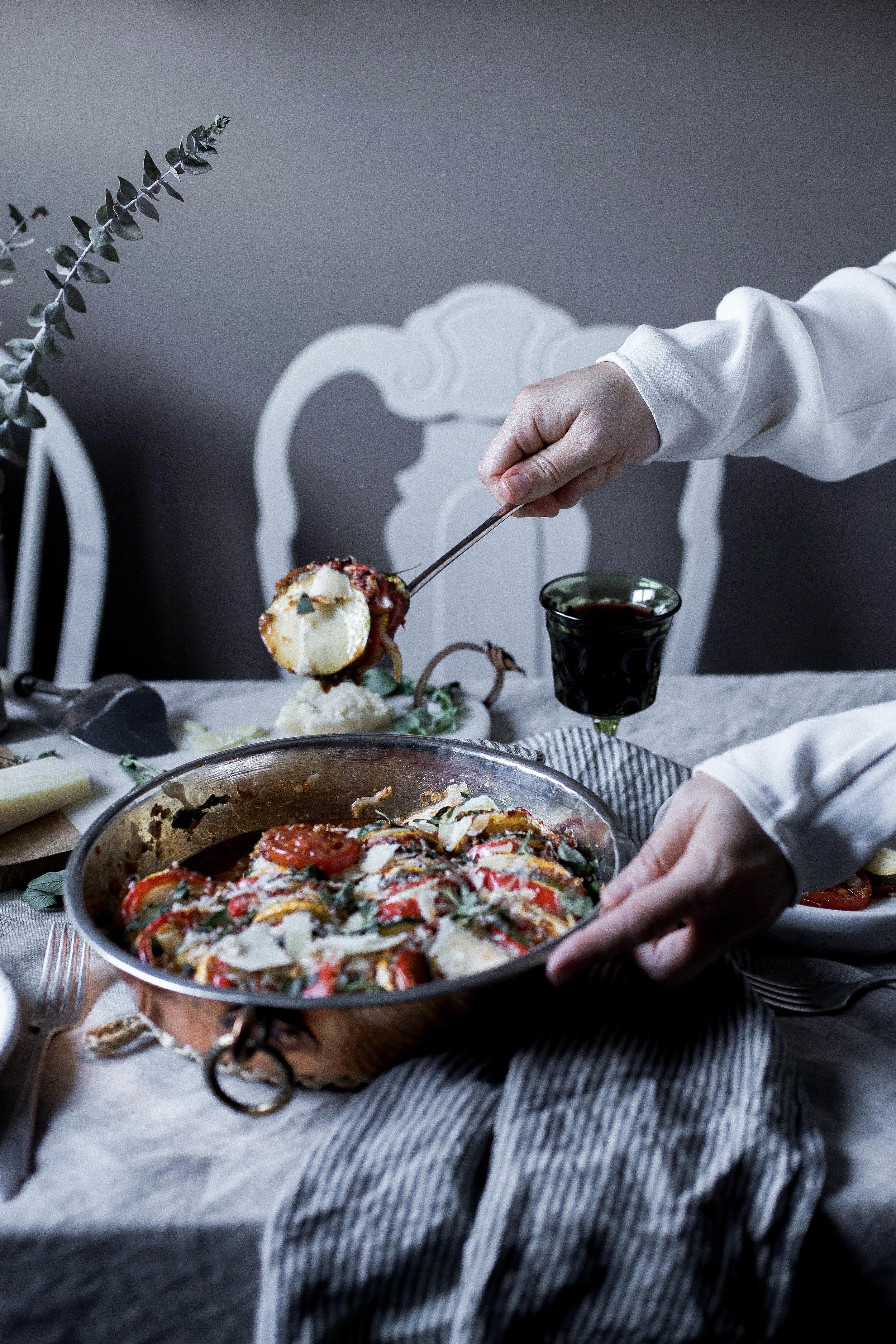 sun dried tomato basil pesto ratatouille {provencal tian} (29 of 1).jpg
