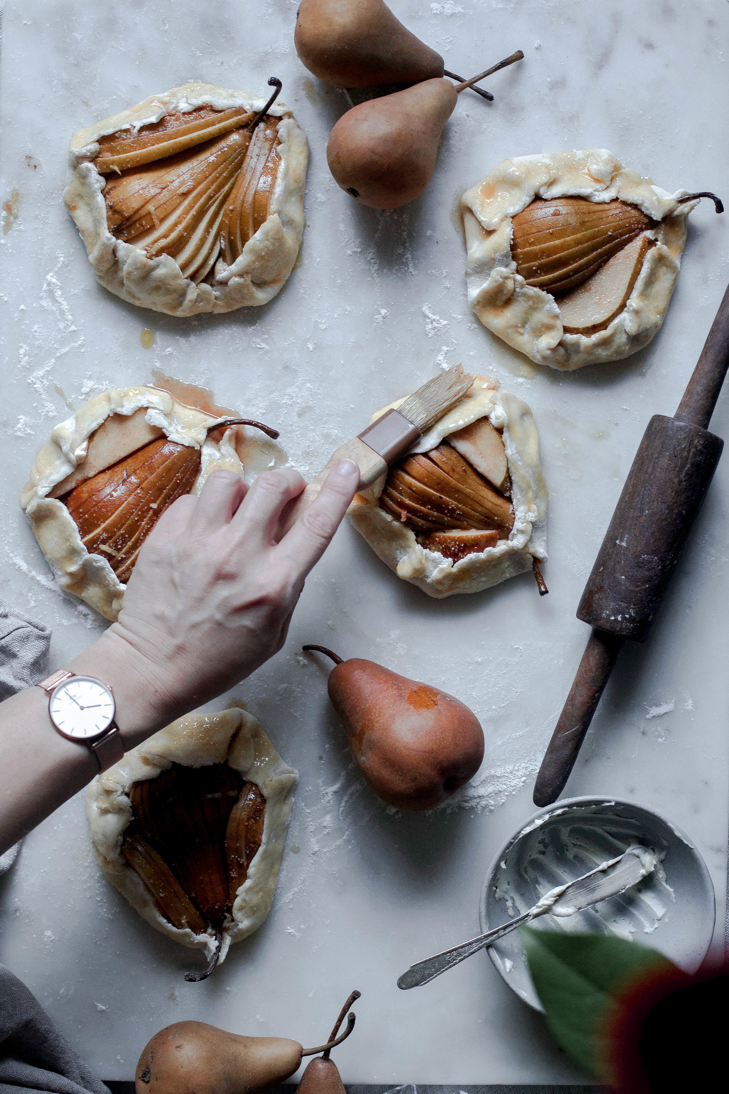 maple cream cheese pear and pistachio galette (13 of 1).jpg