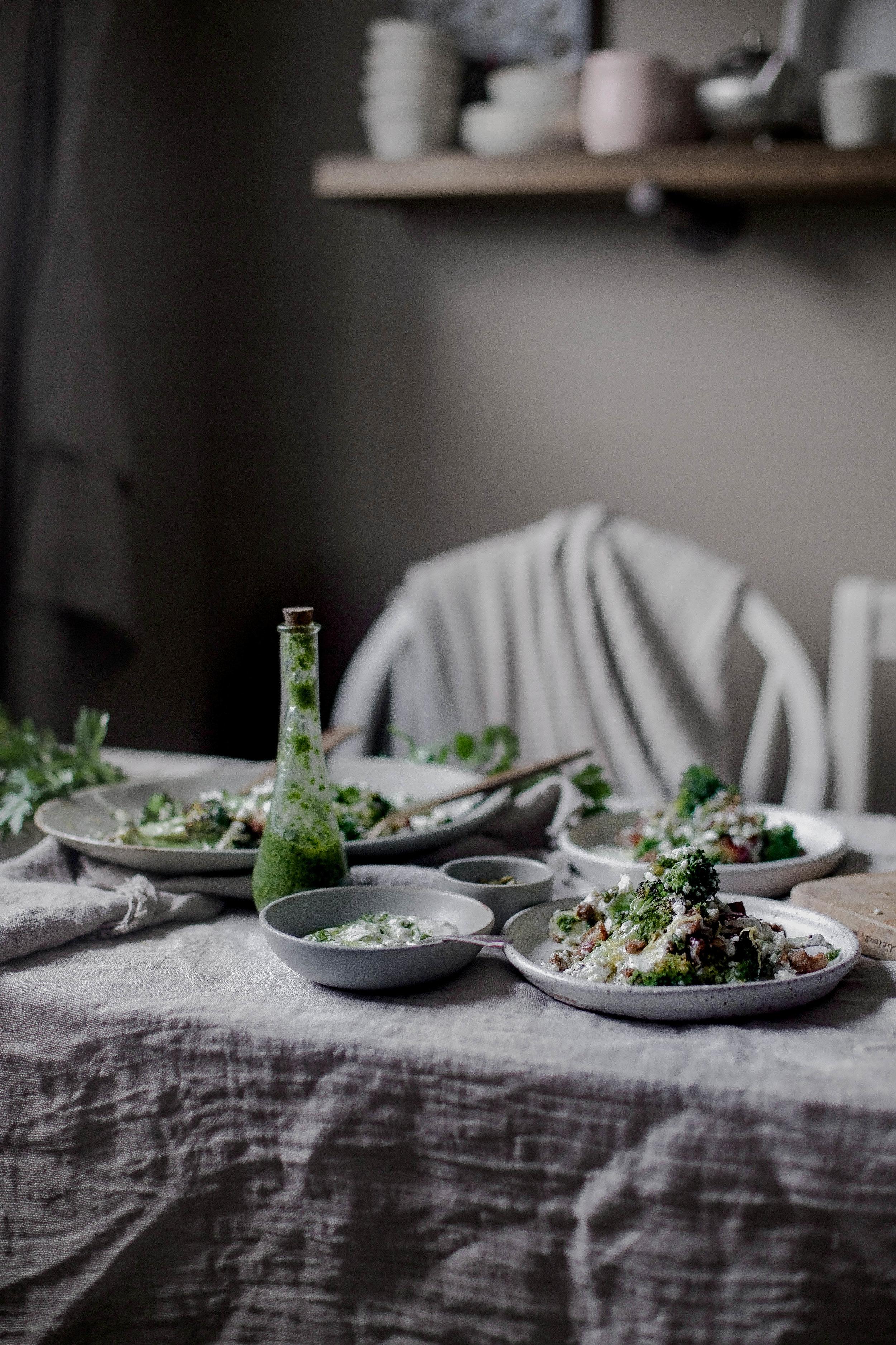 charred broccoli and chorizo with lemon shallot yogurt and jalapeno herb oil (41 of 1).jpg