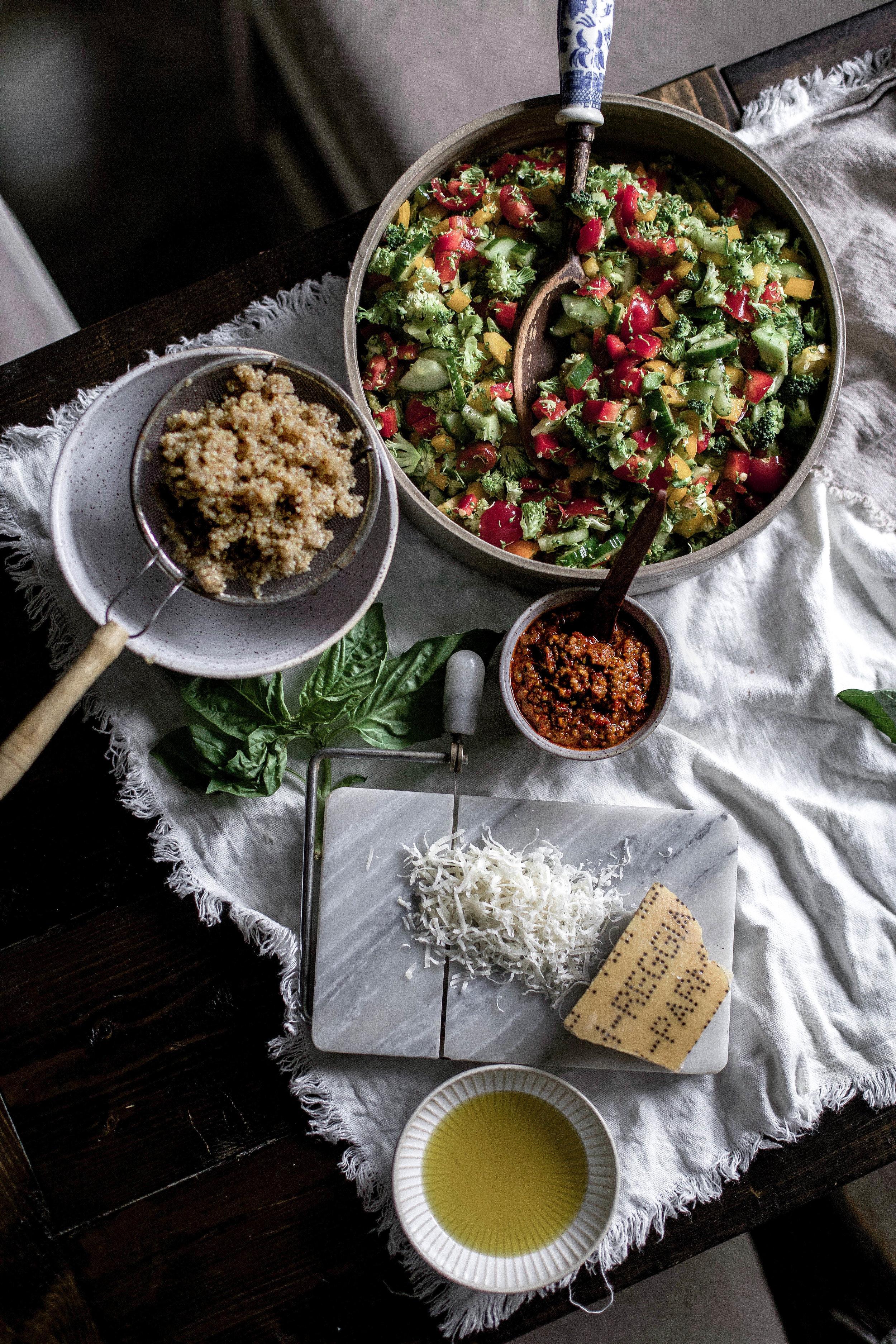 sun dried tomato & basil pesto veggie quinoa salad (9 of 1).jpg