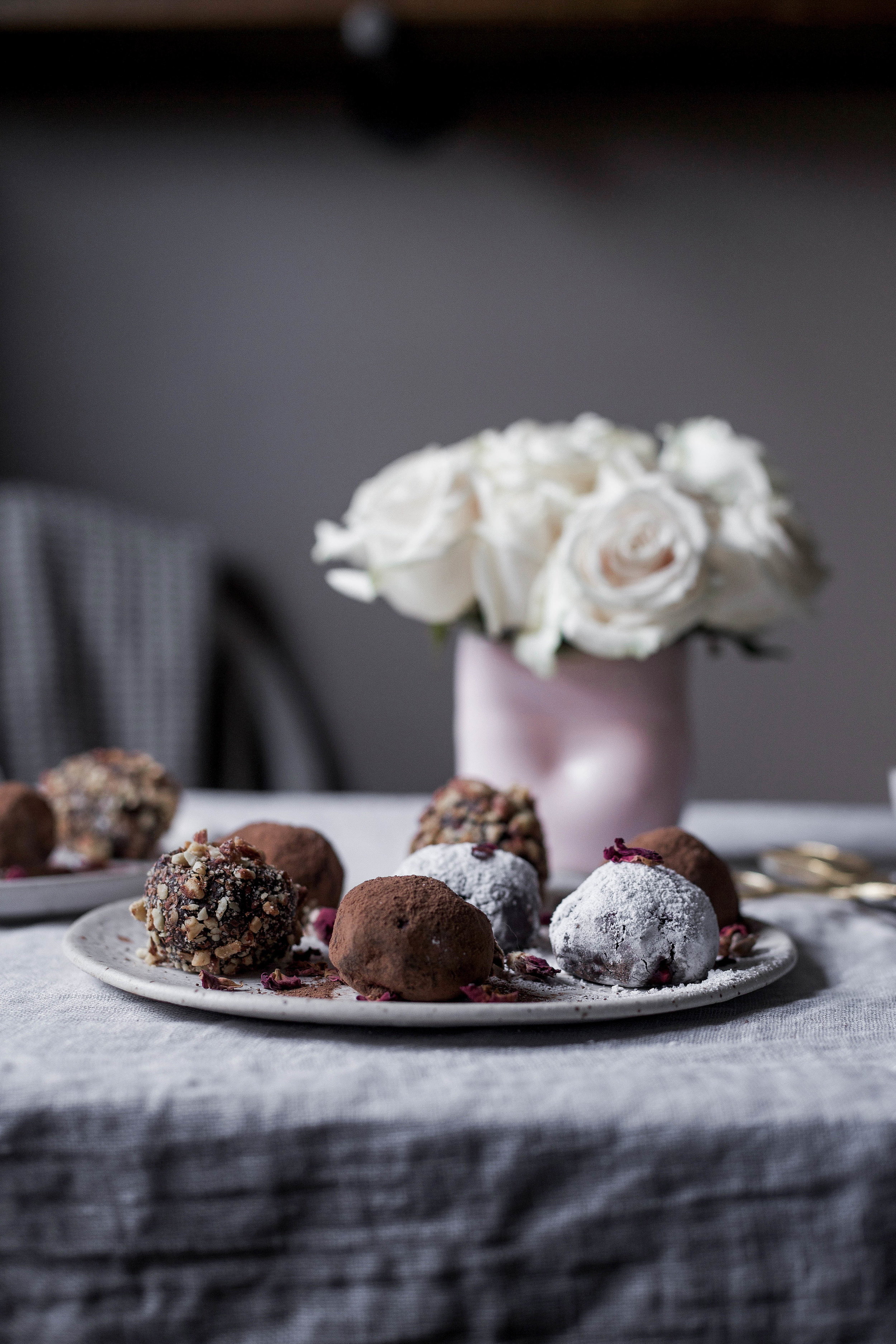 raspberry filled dark chocolate truffles coated three ways (44 of 1).jpg