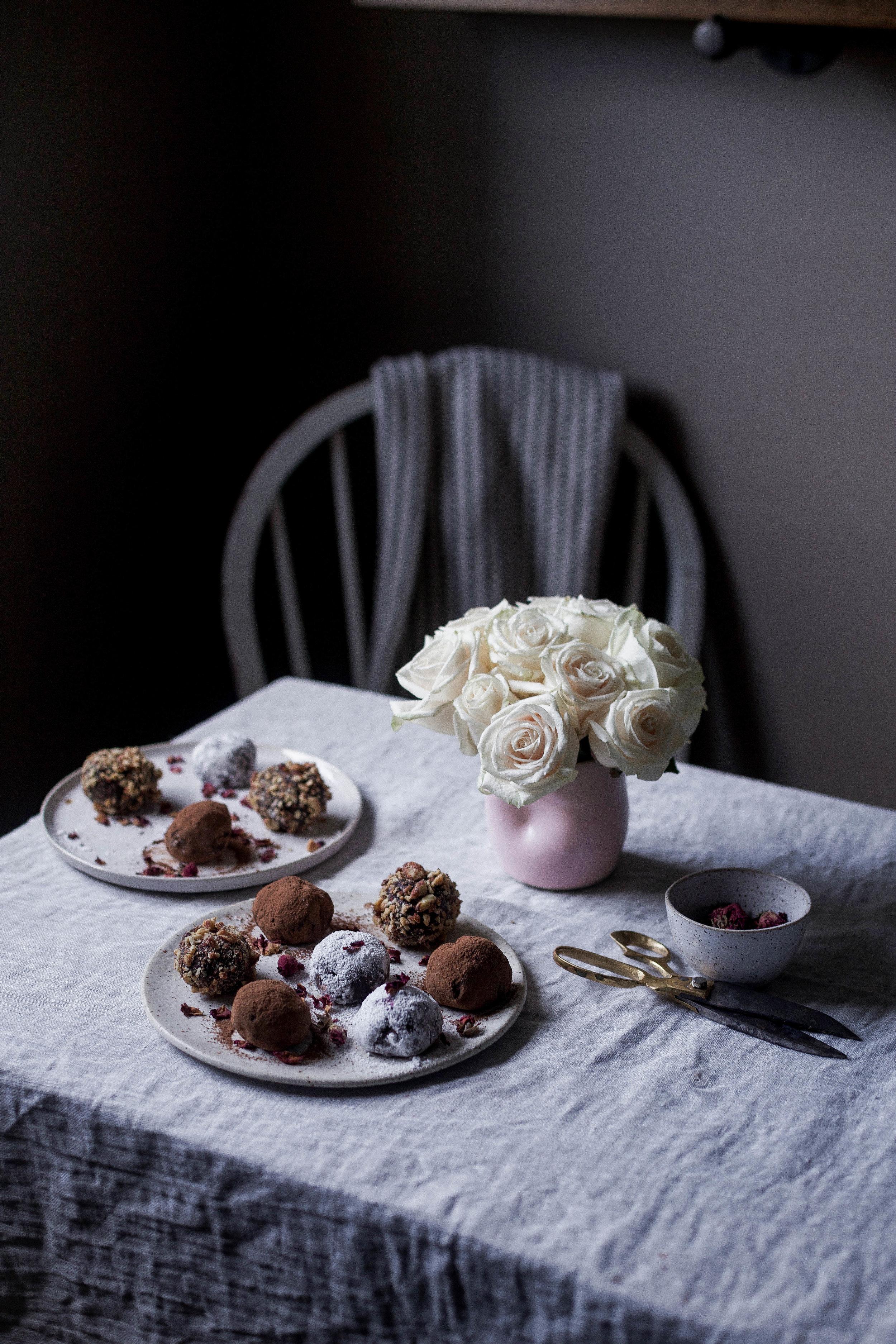 raspberry filled dark chocolate truffles coated three ways (41 of 1).jpg
