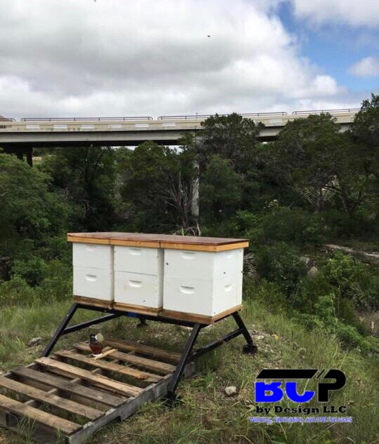 Bee C Hive Stands