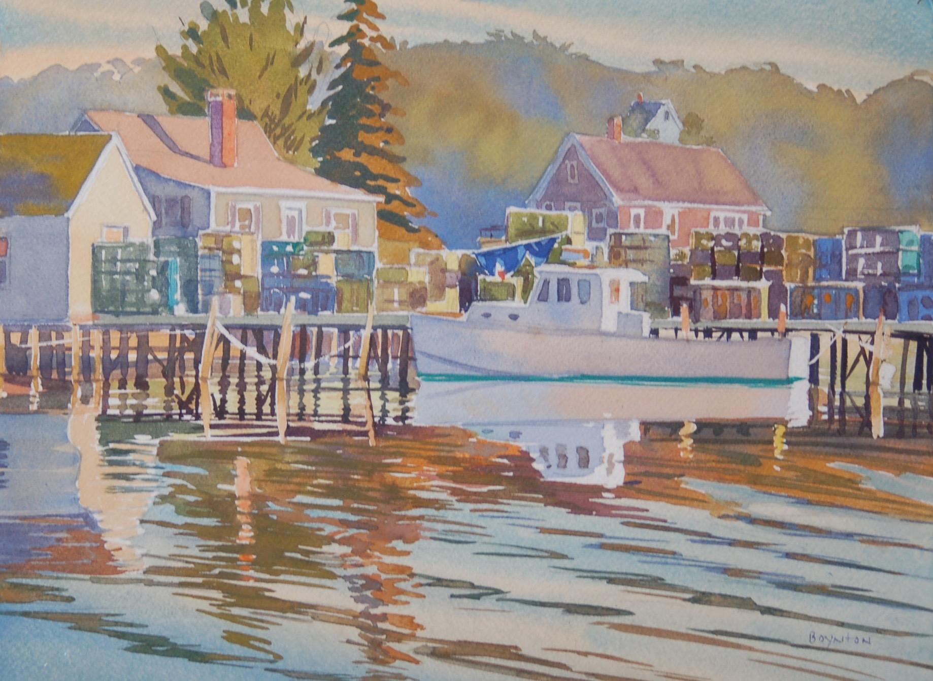 Lobster Pier: Stonington, Maine