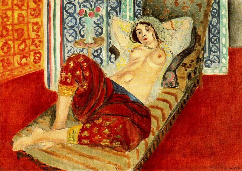 Odalisque with red trousers1921  Paris. Centre George Pompidou