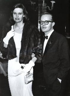 Capote with Gloria Vanderbilt