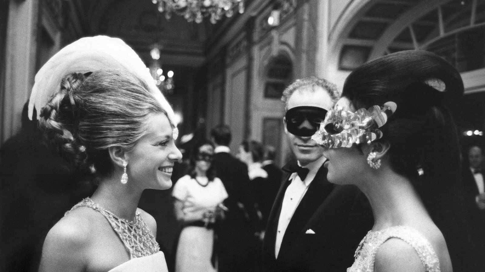 Capote's famous Black and White ball.