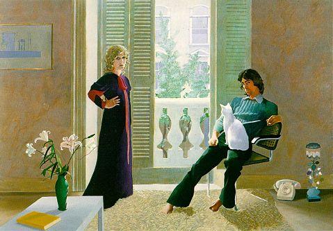 OZZIE CLARKE AND CELIA BIRTWELL - Hockney